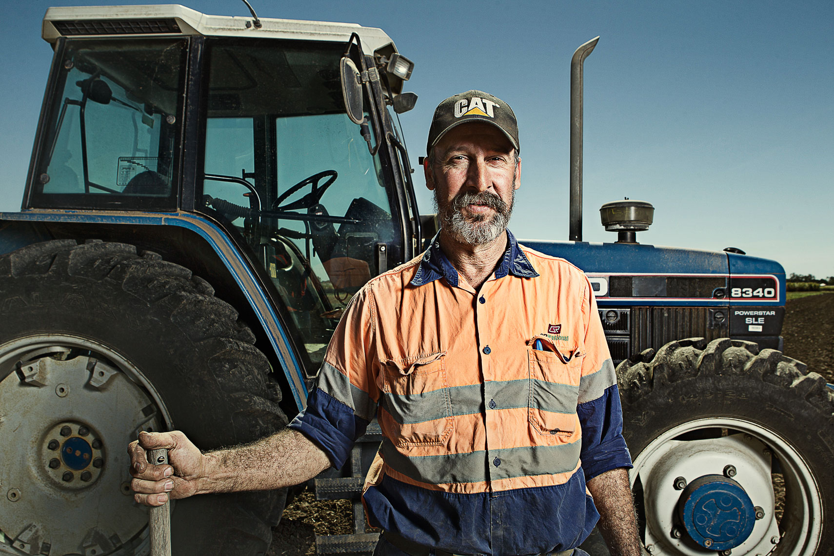 Brand and portrait photography for  Mackay Sugar