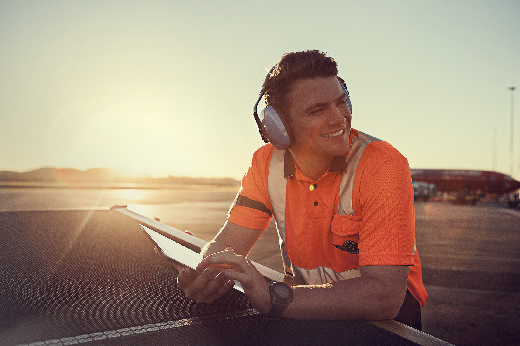 Brand and Campaign photography for Gold Coast Airport