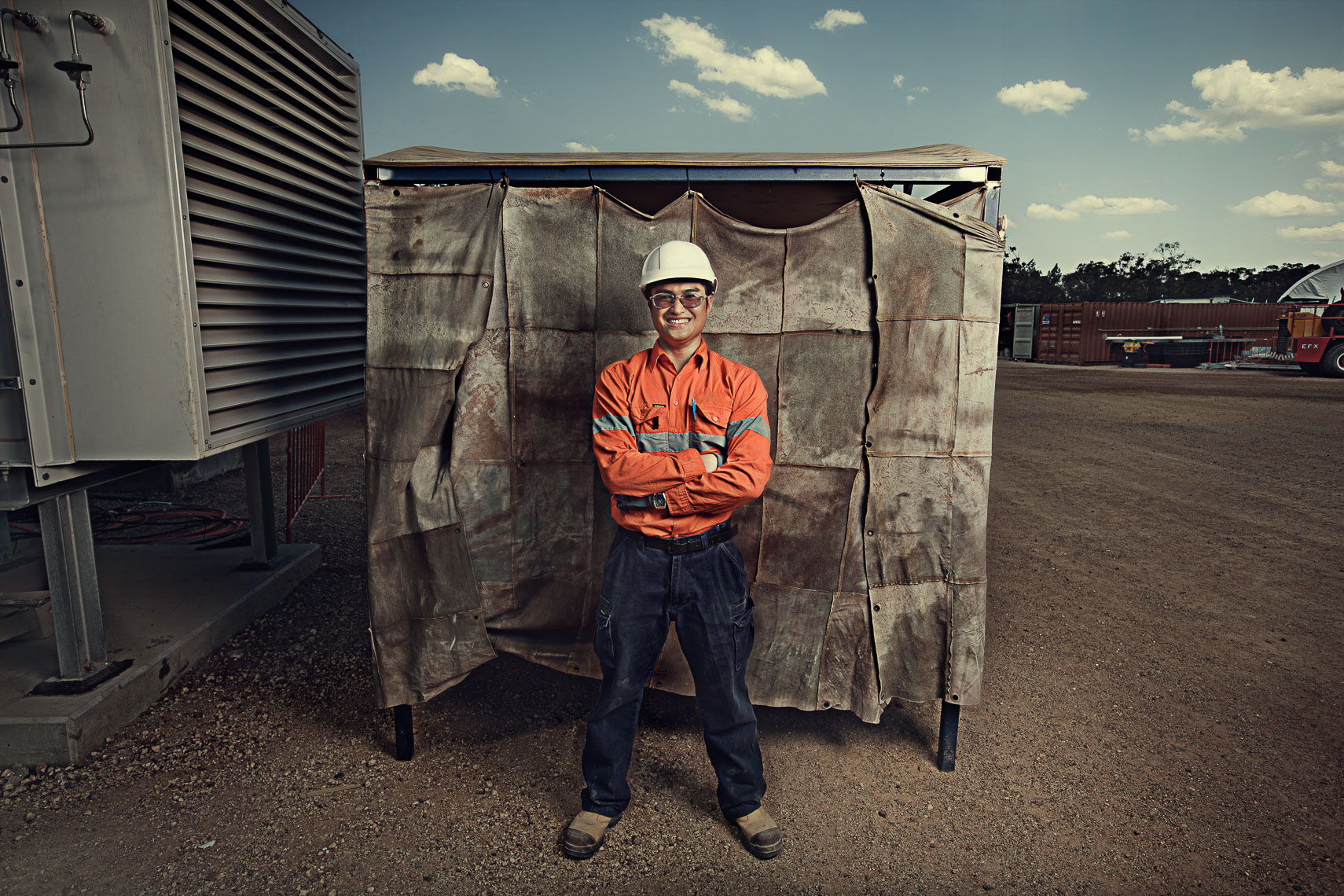 Brand and campaign photography  for Thiess